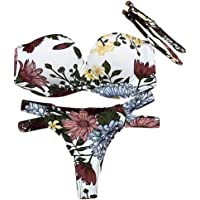 Trada_Bikini a Due Pezzi/Costumi da Bagno Donna/Brasiliana Bikini Donna/Costumi da Bagno Bikini Due Pezzi Donna Mare Sexy Costume Imbottito Push Up Set Bikini Beachwear