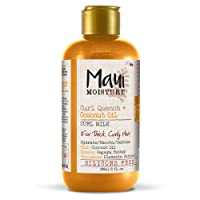 Deals on Maui Moisture Quench + Coconut Oil Curl Milk, 8 Ounce