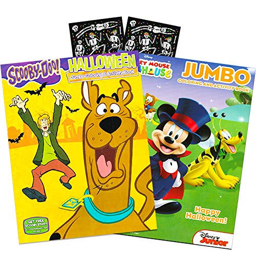 Scooby Doo Halloween Game (Scooby-Doo and Mickey Mouse Halloween Coloring and Activity Book Set with)