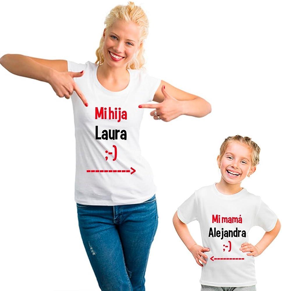 Pack Personalizado de Camiseta para Madre + Body o Camiseta para Hijo/a …