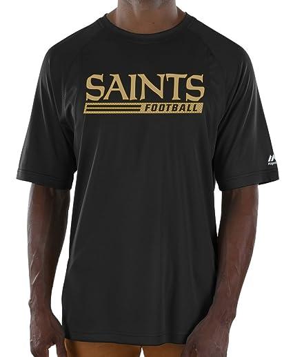 2bac72de Amazon.com : Majestic New Orleans Saints NFL Total Fanfare Men's S/S ...