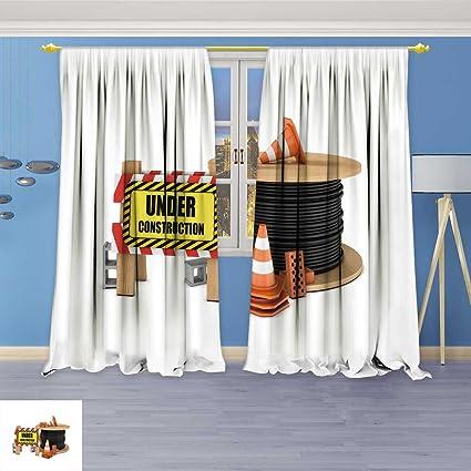Socomimi Tenda Oscurante Tende Internet Pc Cafe Decorazione Interni O Pc Computer Ufficio Di Lavoratore Finestra Pannello Tende Con Occhielli Per 72 W X 72l Inch 108w X 108l Inch Color09 Amazon It