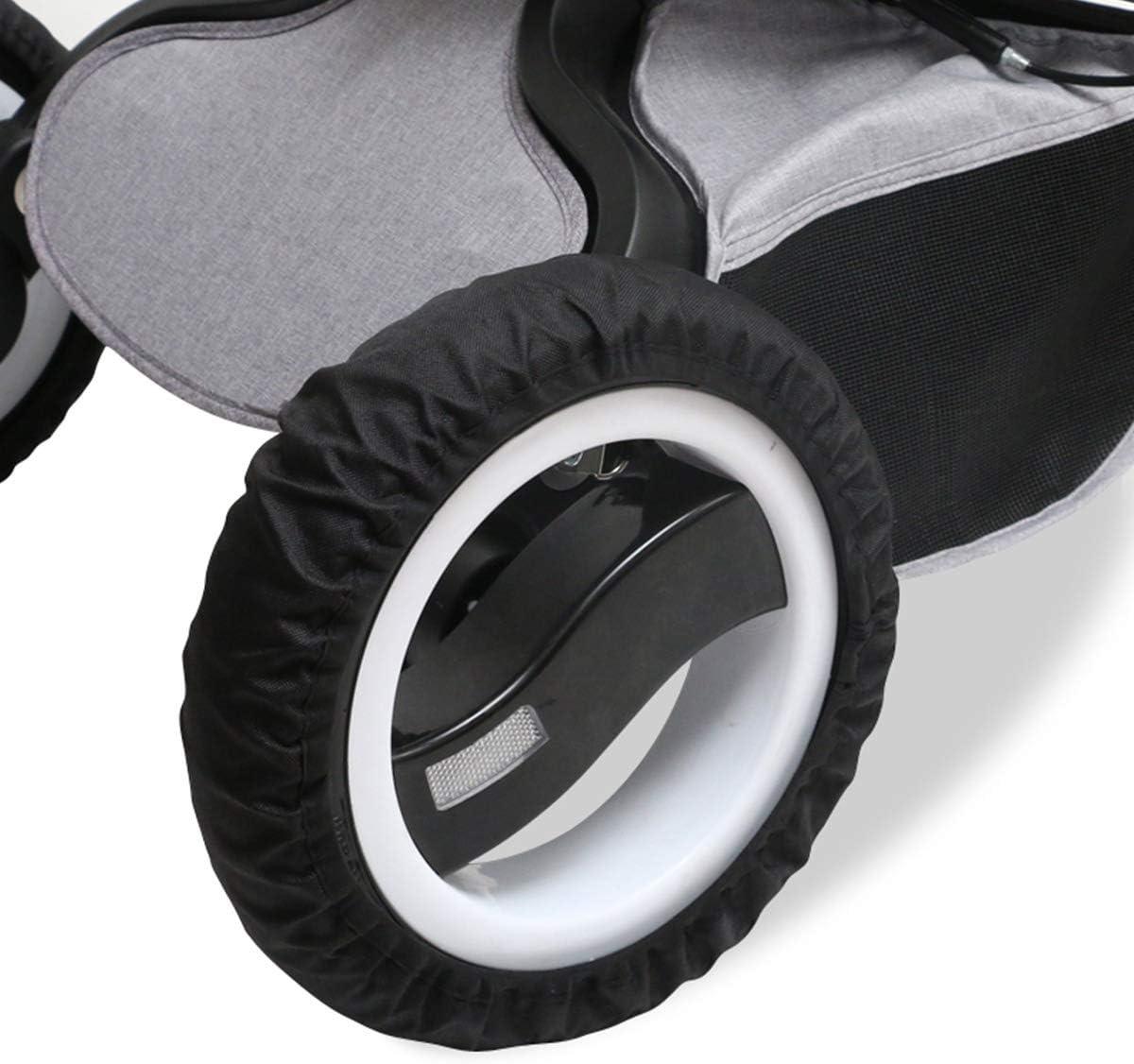Passeggino Ruote Covers Passeggino Accessori Neonati Auto Carrozzina Copertura Protezione per la Protezione della Ruota Pertaka copriruota Passeggino