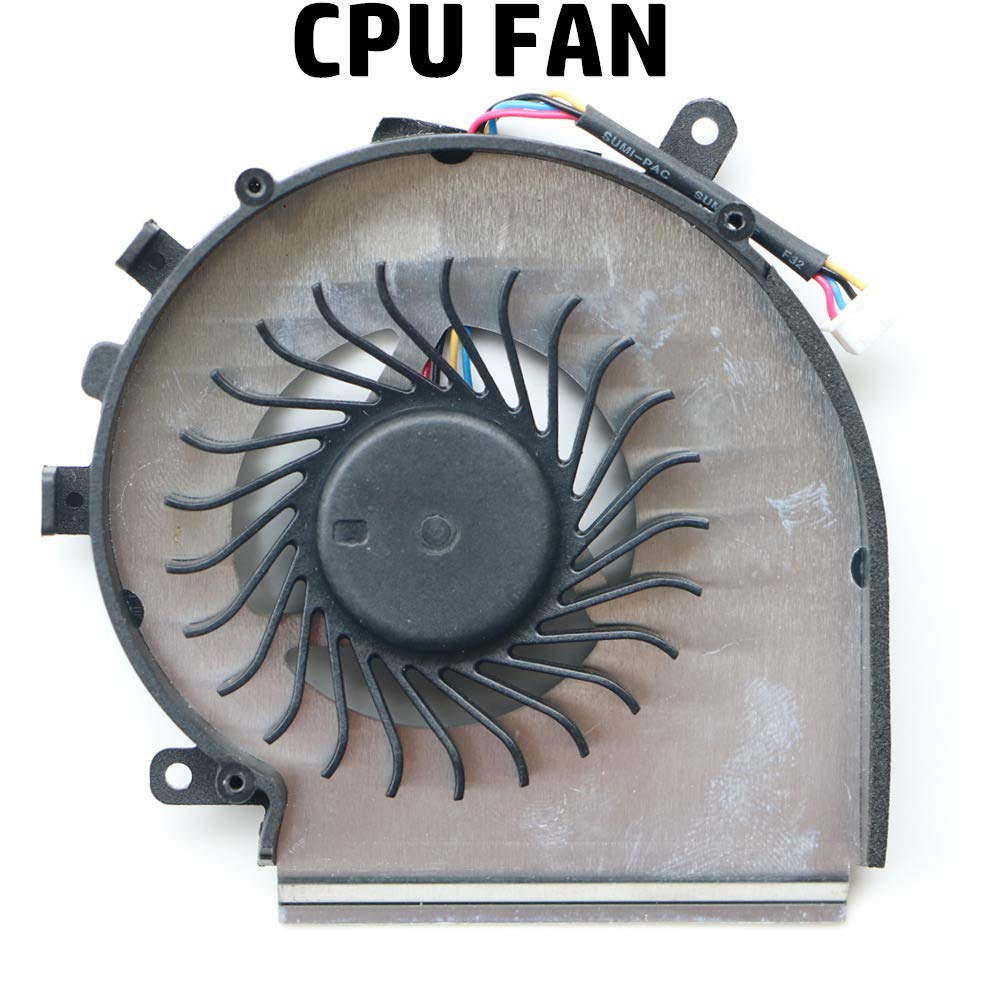 Ventilador CPU Part MSI GE62VR GL62VR GP62VR GL62M GE72VR GP72VR