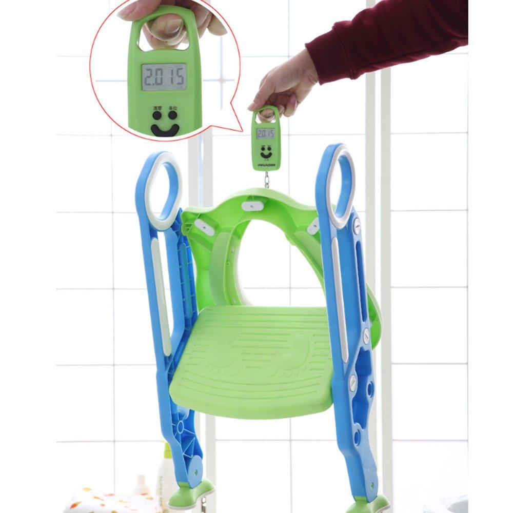 Amazon.com: Potty Training Seat for Kids, ITOY&IGAME Toilet Seat for Potty Training Step Trainer Ladder Toilet Training Potty Seat Sturdy Comfortable Built ...