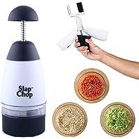 CN Prensa De Ajo Slap Chop, Trituradora De Cebolla Trituradora De Ajo Multifuncional, Rallador De Frutas Y Verduras para…