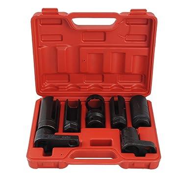 BGS Lambdasonden Schlüssel 22mm Nuss Steckschlüssel Einsatz Lamdasonde Werkzeug