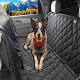 Cheap Glyby Dog Car Seat Cover – Car Backing Seat Cover for Pet- Quilted Waterproof Non Slip Hammock Convertible