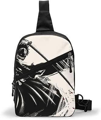 Bleach Ichigo Kurosaki Bolso Bandolera De Hombre Bolso Cruzada Hombre Bolsa De Pecho Sling Bag Crossbody Para Al Aire Libre Camping Ciclismo 227263559