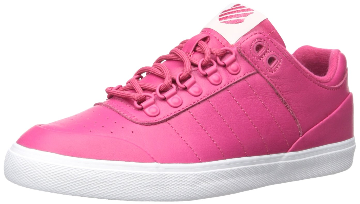 K-Swiss Women's Gstaad Neu Sleek Fashion Sneaker B01M1KLH96 7 B(M) US|Bright Rose/Bright Rose Iridescent