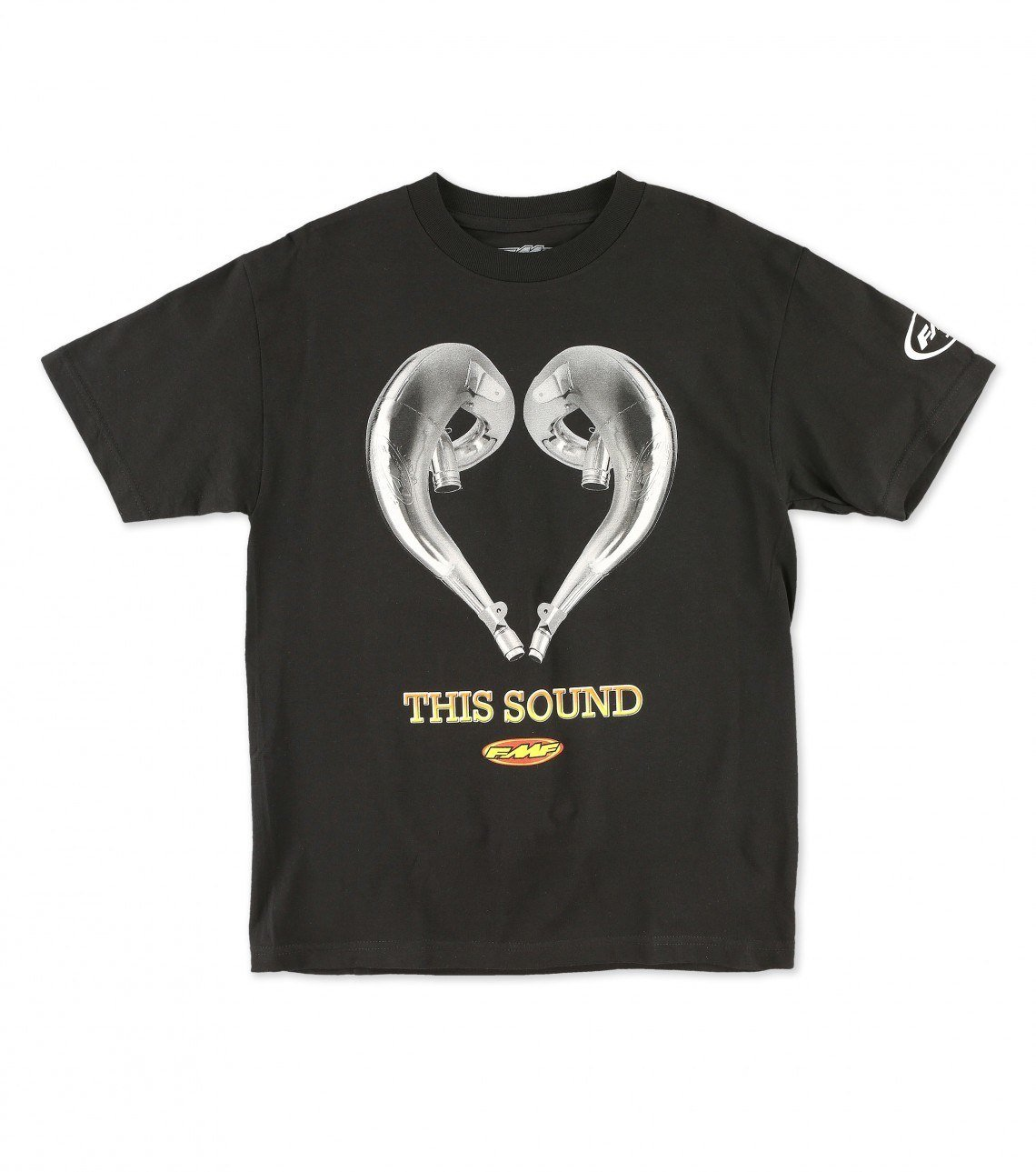FMF Racing Love This Sound T-Shirt (Black, Large)