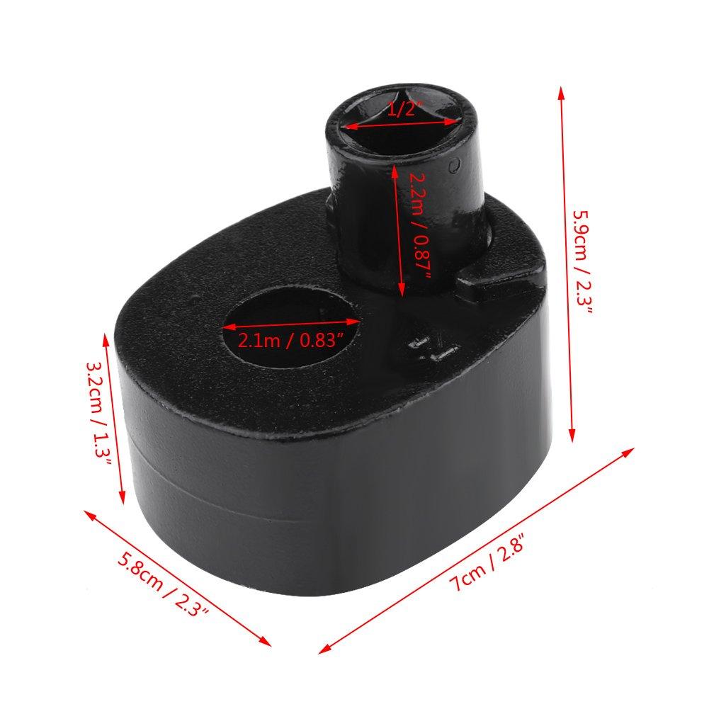 33mm-42mm cl/é /à tige de loutil de dissolvant cl/é universelle de fin de biellette pour moto v/éhicule v/éhicule
