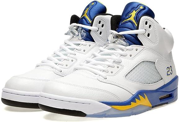 NIKE Mens Air Jordan 5 Retro Laney