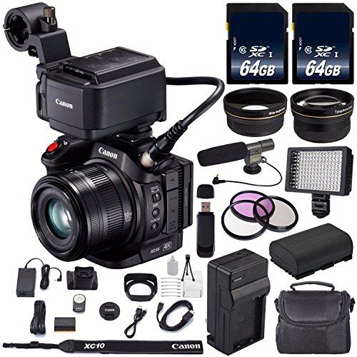 Canon XC15 4K Professional Camcorder #1456C002  + 64GB Memor