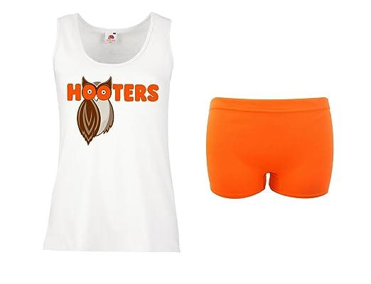 Hooters style sexy shirts custimized logo dizon