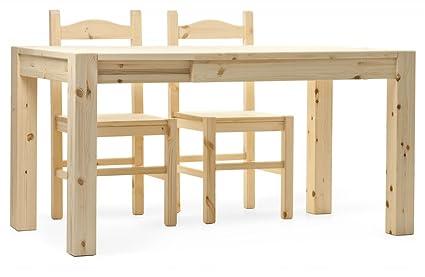 Arredamenti Rustici Tavolo CUBO L140 allungabile rustico in legno ...