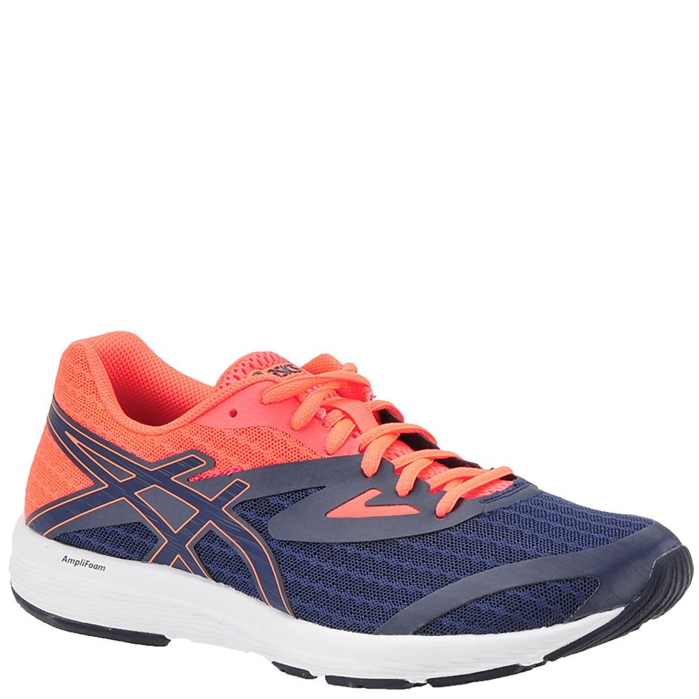 ASICS Women's AMPLICA Running Shoe B071P231D5 6 B(M) US|Indigo Blue/Indigo Blue/Flash Coral
