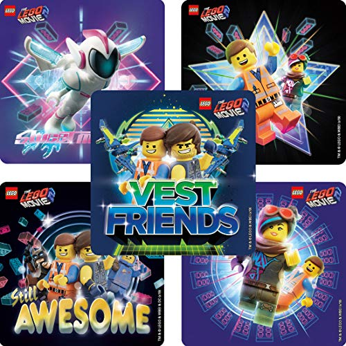 - SmileMakers The Lego Movie 2 Stickers - Prizes 100 per Pack