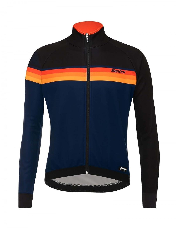 Chaqueta Ciclismo Santini 2017 H Way Windstopper Negro (Xl ...