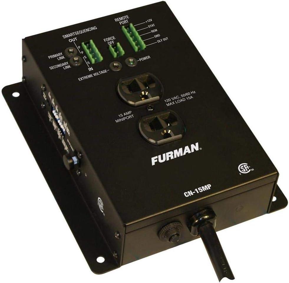 Furman Sound BlueBOLT CN-15MP 15A MiniPort Remote Duplex Smart Outlet