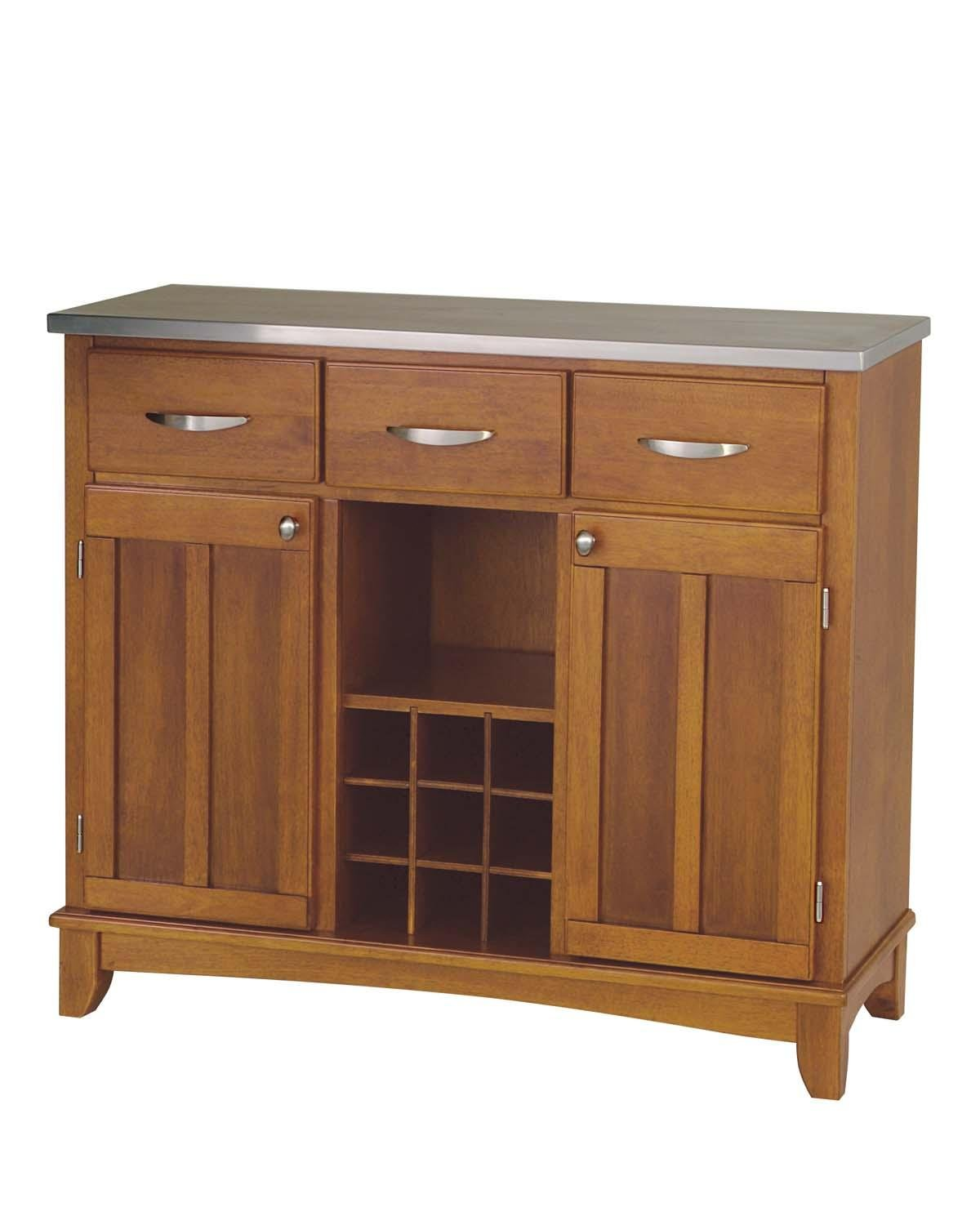 Home Styles 5100-0063 Large Wood Server Sideboard