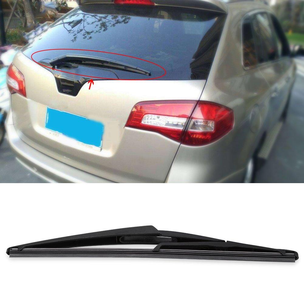 Qiilu Cuchilla limpiaparabrisas del parabrisas trasero del coche: Amazon.es: Coche y moto