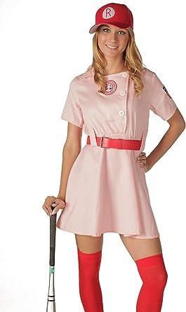 TV Store Women's A League of Their Own Rockford Peaches AAGPBL Baseball Dress