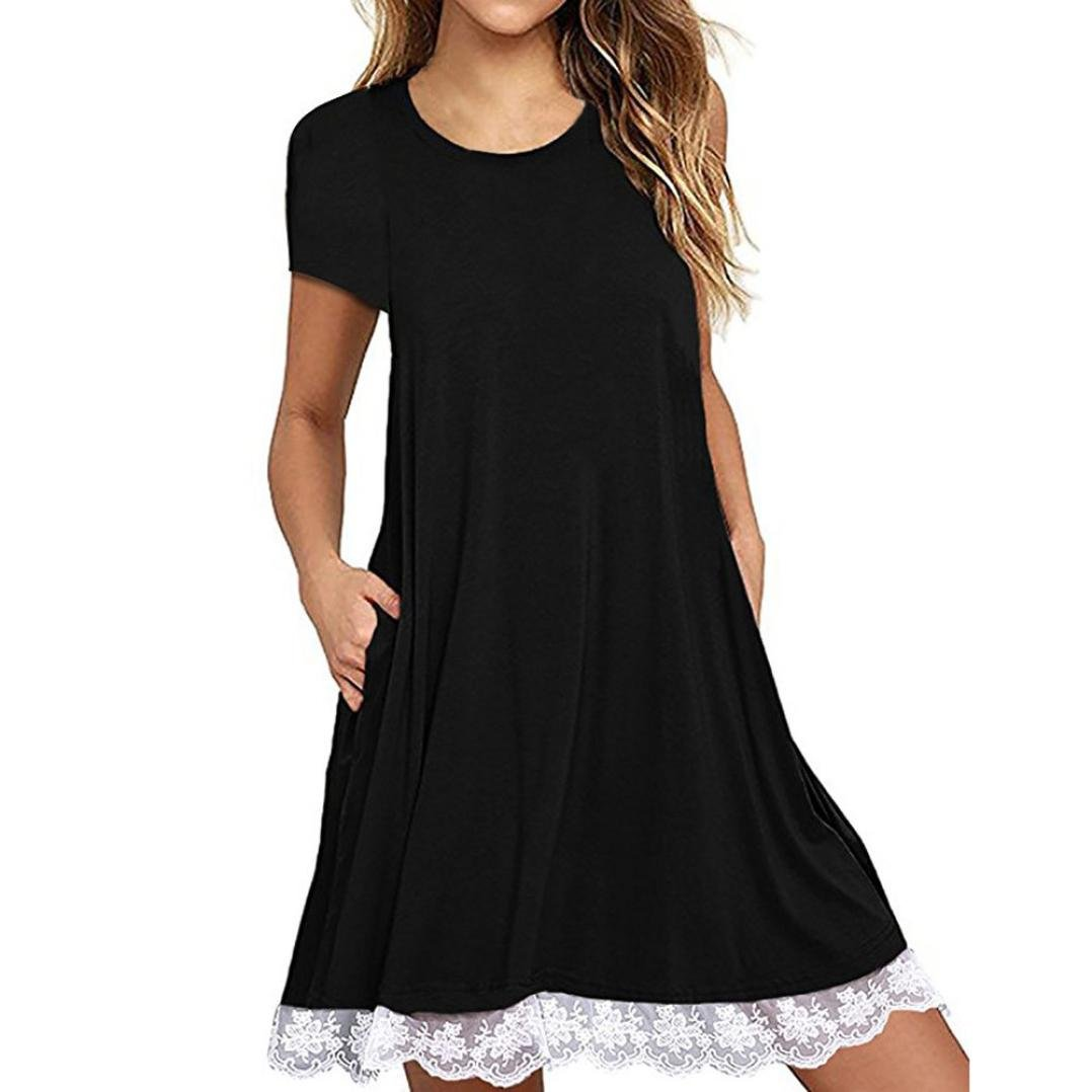 0772bdfbaf Online Cheap wholesale AmyDong Dress, Womens Sleeveless Dresses Print Short  Sleeve Loose Casual O-Neck Length Dress Lighting & Ceiling Fans Suppliers
