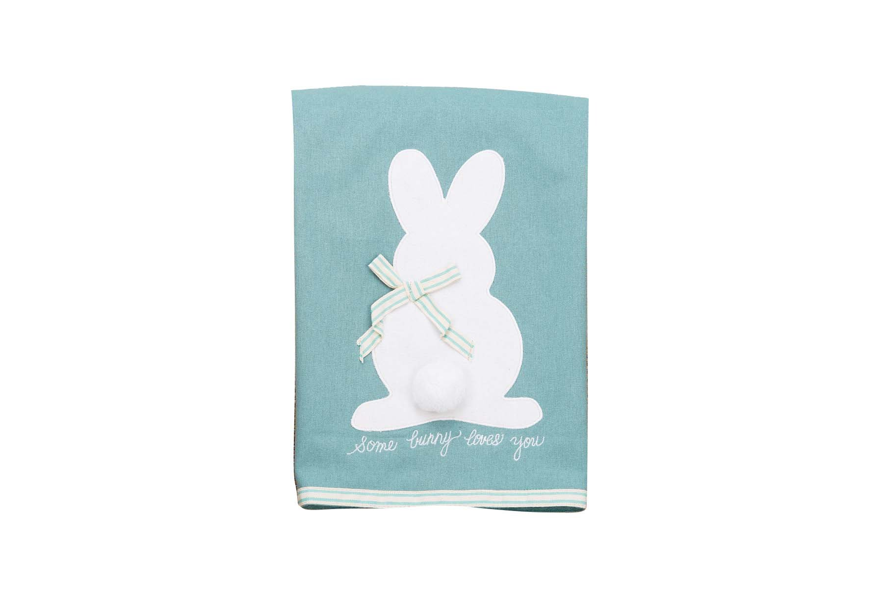 Glory Haus Some Bunny Loves You Tea Towel, Multicolor
