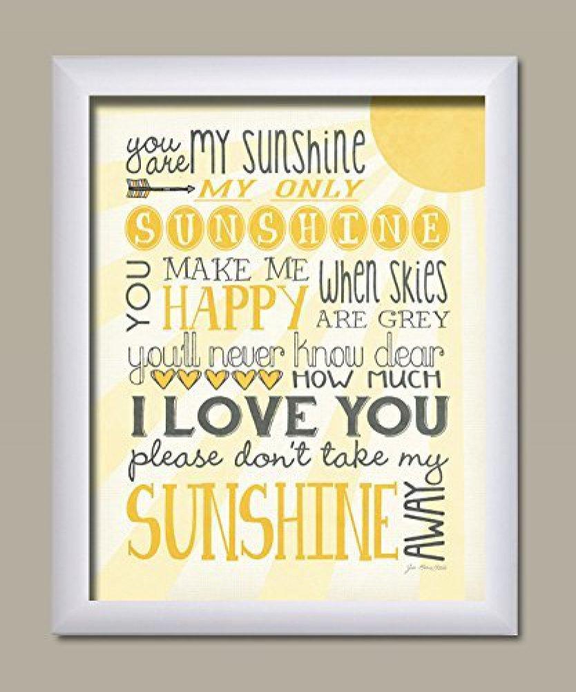 Fantastic You Are My Sunshine Wall Decor Embellishment - Art & Wall ...