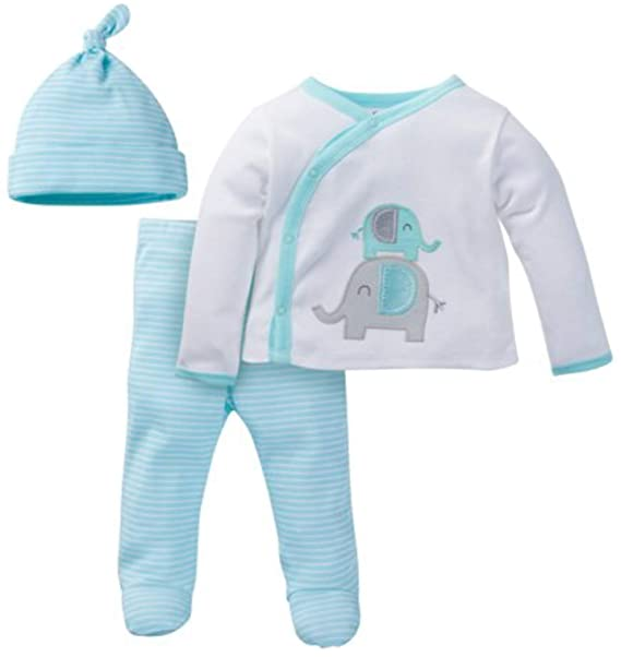 """e21f13334 Image Unavailable. Image not available for. Color: Gerber 0-3M 0-3 Months  Unisex Baby Layette Set """"Take Me Home"""