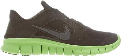 Nike Free Run 3 (GS) Boys Running Shoes 512165-005 Black