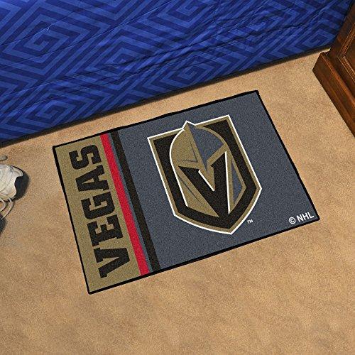 FANMATS NHL Vegas Golden Knights Starter Mat, One Size, Team Color ()