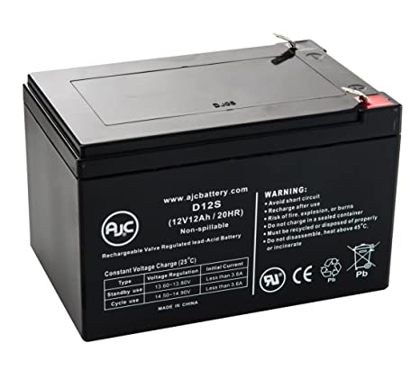 amazon com mk es12 12 es 12 12 12v 12ah ups battery this is an