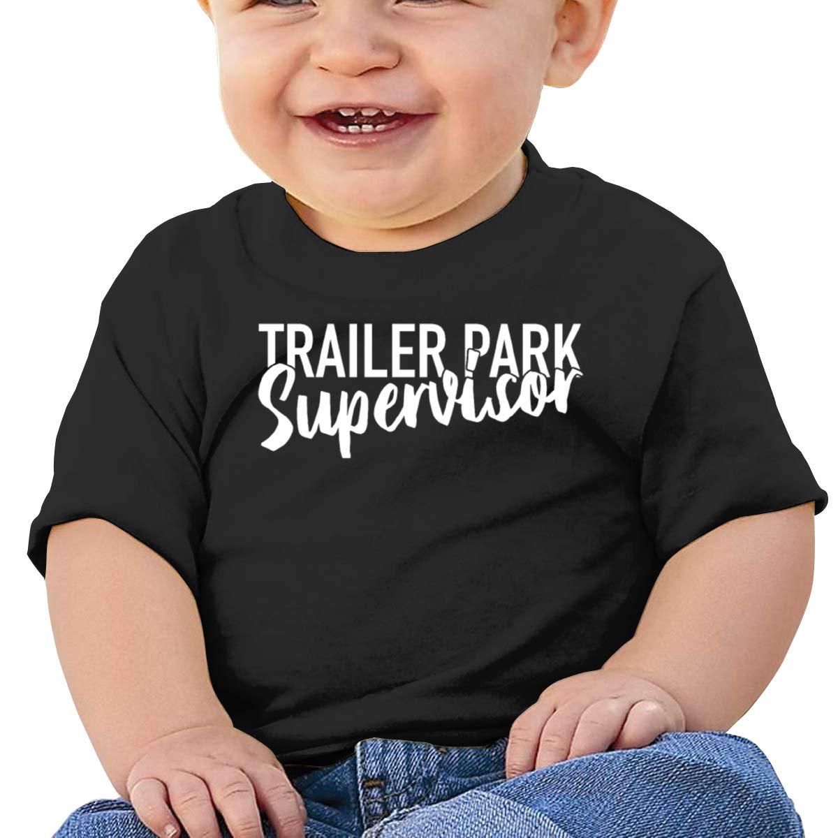 Moniery Trailer Park Supervisor Short Sleeve T Shirts Baby Boy Toddler