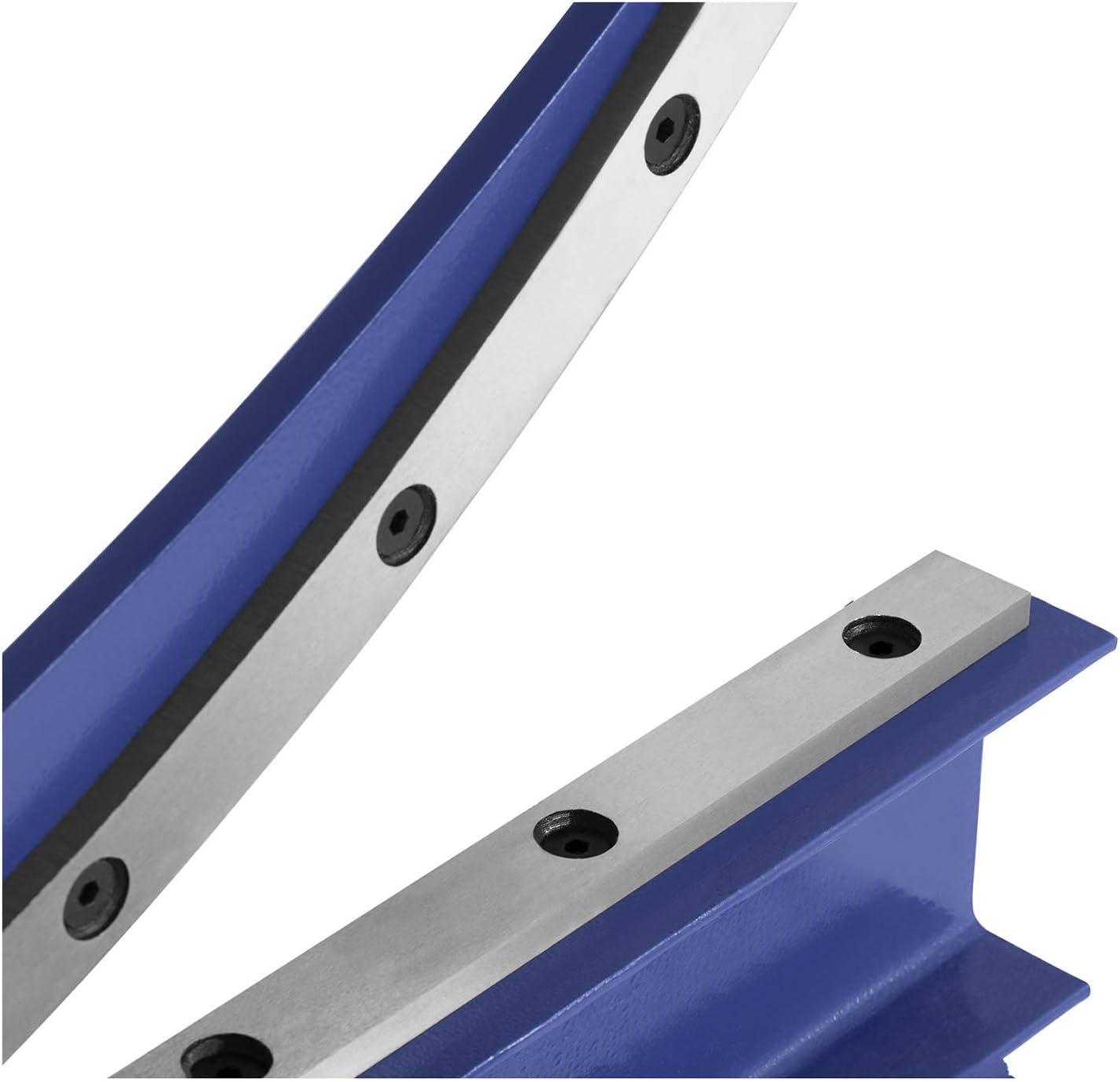 MSW Cisaille /À Levier Pour T/ôle Plastique Manuelle Avec Pi/étement MSW-HS500 T/ôles /≤ 1,5 mm, Acier Et Acier Outil, Largeur utile: 500 mm