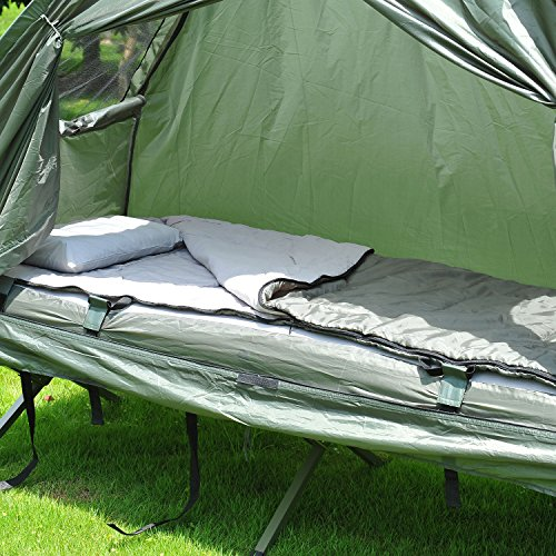 Outsunny Compact Pop Up Portable Folding Outdoor Elevated