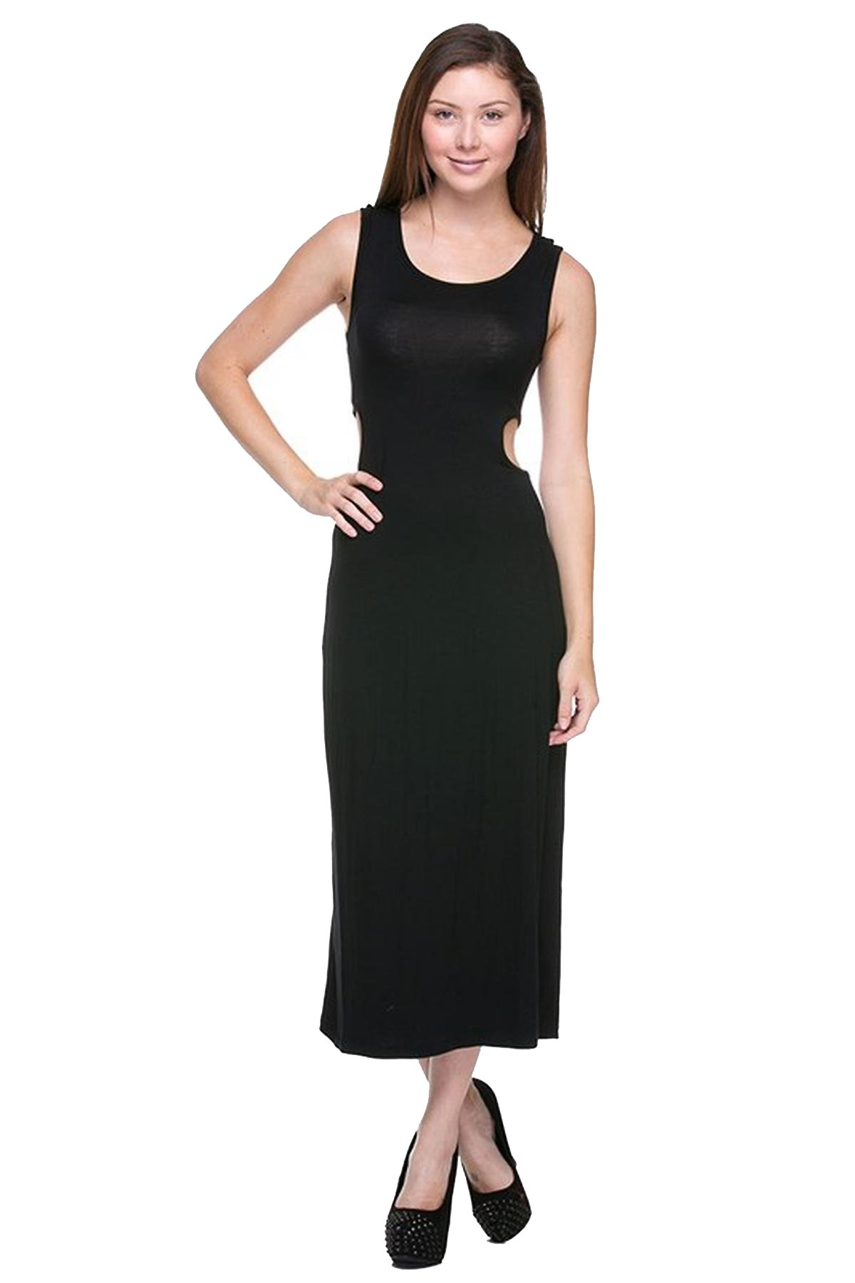 G2 Chic Women's Maxi Dress with Open Back
