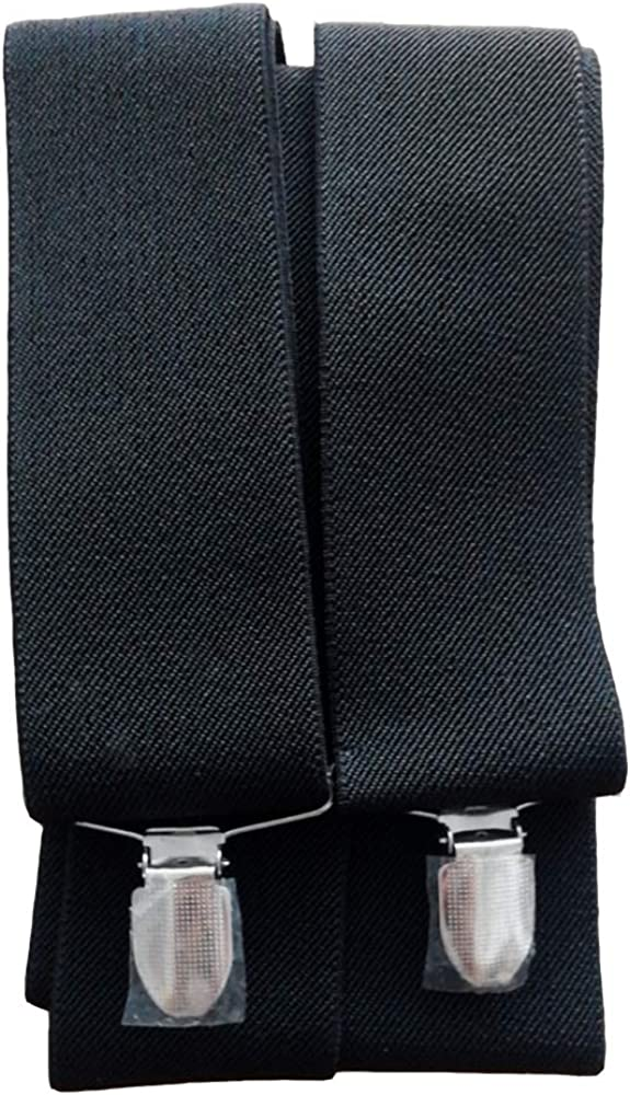 ancho 5 cm largo 120 cm con Clips Fuerte Anyasen Tirantes para Pantalones Hombre Tirantes para Hombre en Forma de X Tirantes Hombre El/ásticos Ajustables Tirantes para Pantalones Hombre