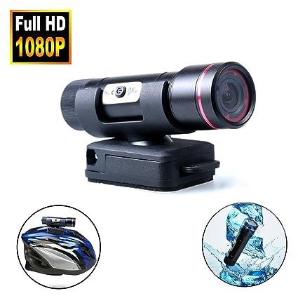 HD1080P DV Mini cámara de deportes prueba agua Casco Bicicleta Acción DVR Video