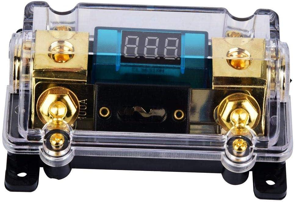 Aerzetix 3800946190097 porta-fusibile per stereo per Auto 30A fusibile Agu