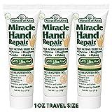 3- Pack Miracle Foot Repair Cream 1 ounce tube with 60% UltraAloe