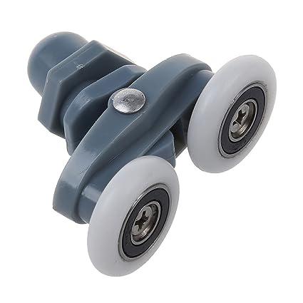amazon com sodial r 4x twin bottom top shower door rollers pulleys