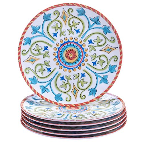 Certified International Corp Tuscany Salad/Dessert Plates, 9