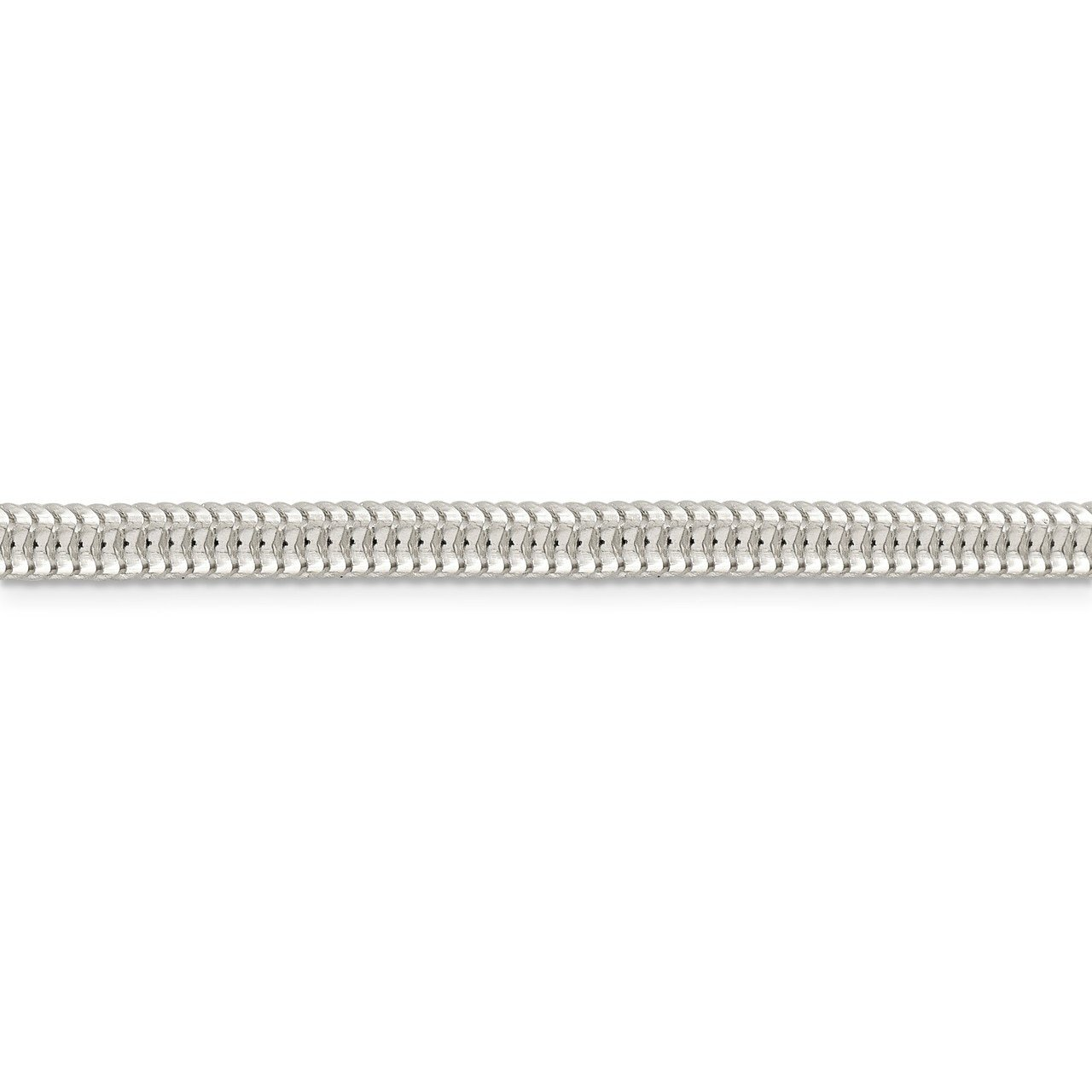 Lex /& Lu Sterling Silver 5mm Round Snake Chain Necklace