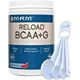 MRM BCAA+G Reload Post-Workout Recovery, Supports Muscle Recovery, 11.6 oz Watermelon Bundle with a Lumintrail Measuring Spoon Set