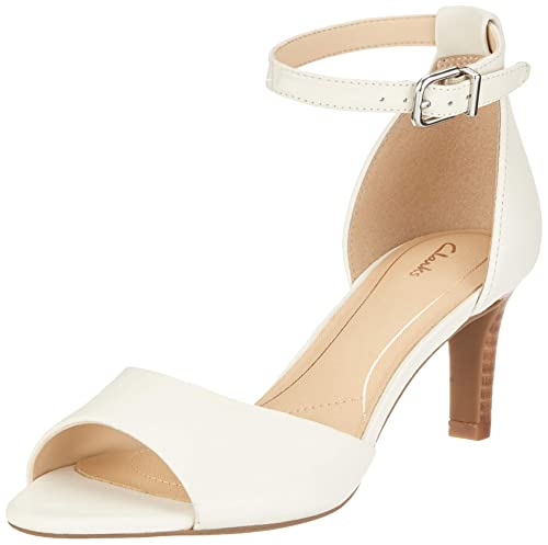 33a4bb676d7 Clarks Women's Laureti Grace Ankle Strap Heels