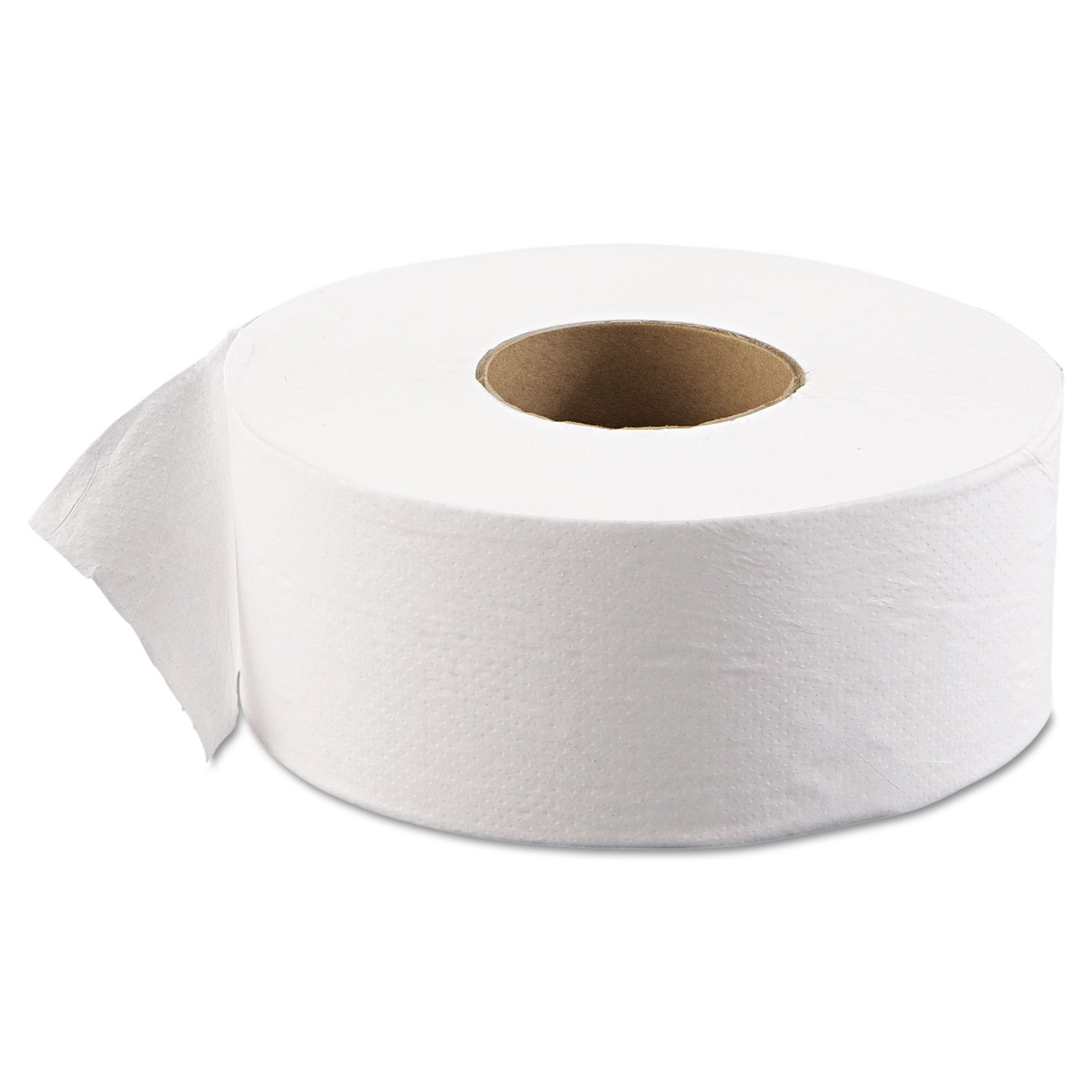 Advantage TT1JT 1-Ply Jumbo Toilet Tissue, 3.7'' x 2000' (Pack of 12)