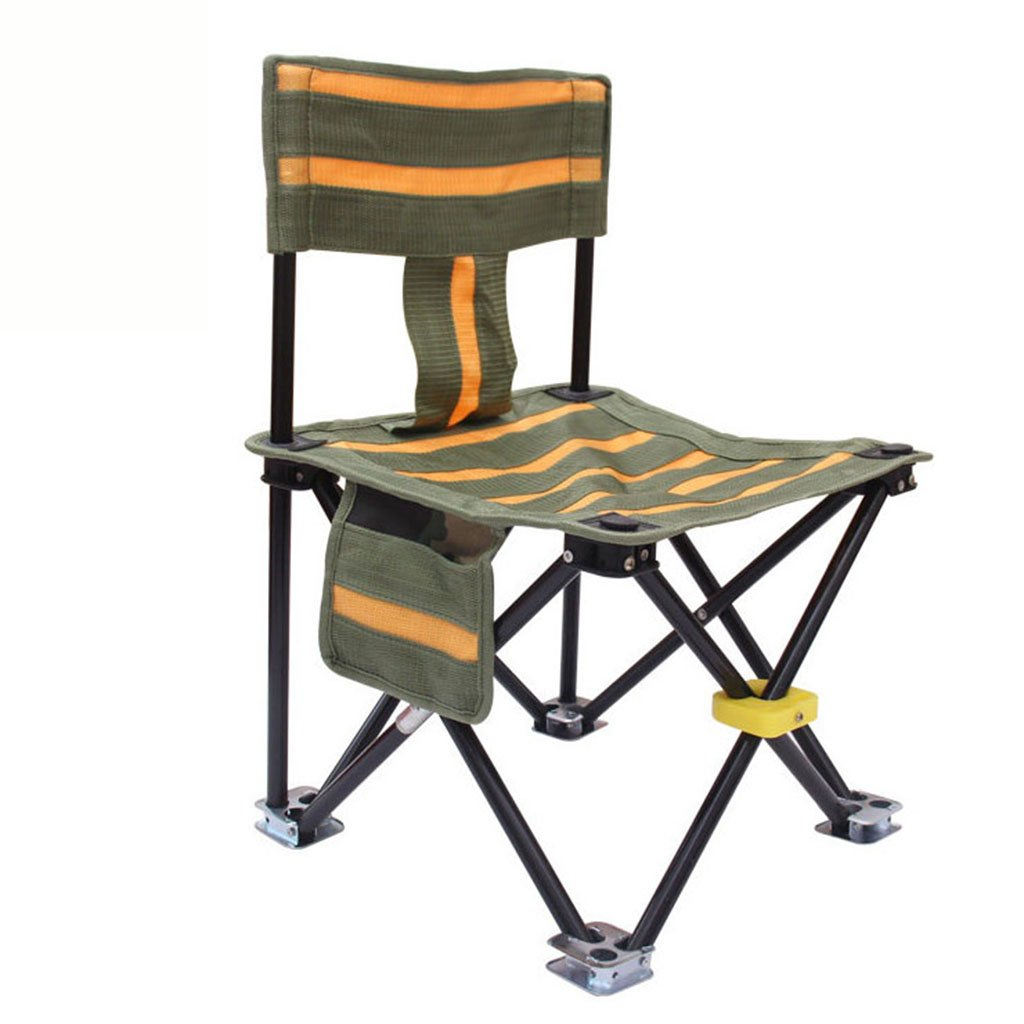 ZGL 旅行椅子 屋外折りたたみチェアポータブルビーチカジュアルチェア折りたたみ釣りスツール背もたれライティングチェアカモフラージュ屋外チェア B07CG8H6P2