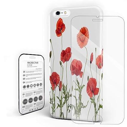 Funda iPhone 7 Plus - Madera Vidrio Templado